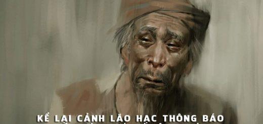 ke chuyen lao hac thong bao ban cho  520x245 - Nếu là người được chứng kiến cảnh lão Hạc thông báo việc bán chó với ông giáo, trong truyện ngắn cùng tên của Nam Cao, thì em sẽ ghi lại câu chuyện đó như thế nào?