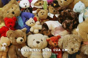 Tả con gấu bông của em – Văn mẫu lớp 5