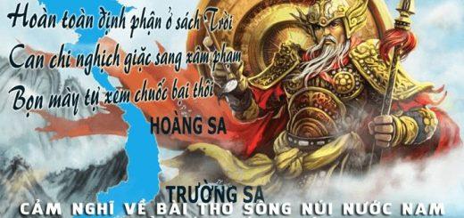 cam nghi ve bai tho song nui nuoc nam 520x245 - Phát biểu cảm nghĩ về bài thơ Sông núi nước Nam của Lí Thường Kiệt - Văn mẫu lớp 7