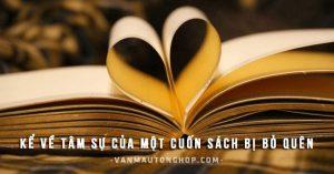 Kể về tâm sự của một cuốn sách bị bỏ quên – Văn mẫu lớp 7