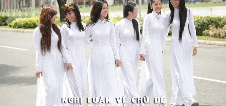 nghi luan ve chu de trang phuc va van hoa 720x340 - Nghị luận về chủ đề Trang phục và Văn hóa