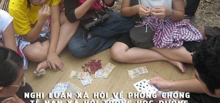 nghi luan ve te nan hoc duong 1 720x340 - Nghị luận xã hội về phòng chống tệ nạn xã hội trong học đường