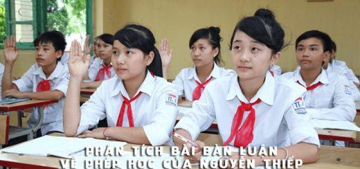 phan tich bai ban luan ve phep hoc 520x245 - Phân tích bài Bàn luận về phép học của Nguyễn Thiếp