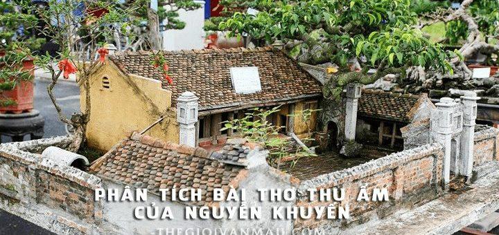 phan tich bai tho thu am cua nguyen khuyen 720x340 - Phân tích bài thơ Thu ẩm của Nguyễn Khuyến