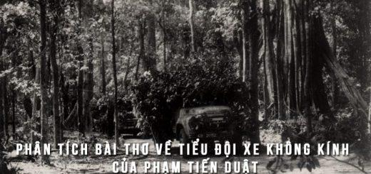 phan tich bai tho ve tieu doi xe khong kinh 520x245 - Phân tích Bài thơ về tiểu đội xe không kính của Phạm Tiến Duật
