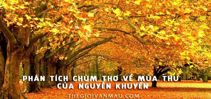 phan tich chum tho mua thu 720x340 - Phân tích chùm thơ về mùa thu của Nguyễn Khuyến
