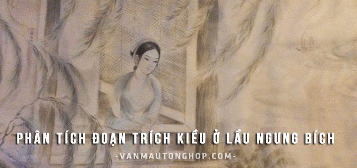 phan tich doan trich kieu o lau ngung bich - Phân tích đoạn trích Kiều ở lầu Ngưng Bích