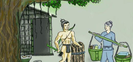 ta nguoi dung si trong truyen co tich 520x245 - Miêu tả người dũng sĩ trong truyện cổ tích - Văn mẫu lớp 6