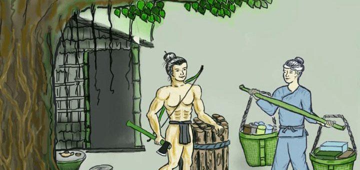 ta nguoi dung si trong truyen co tich 720x340 - Miêu tả người dũng sĩ trong truyện cổ tích - Văn mẫu lớp 6