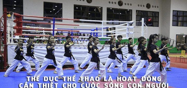 the duc the thao la hoat dong can thiet 720x340 - Bình luận chứng minh Thể dục thể thao là hoạt động cần thiết cho cuộc sống con người