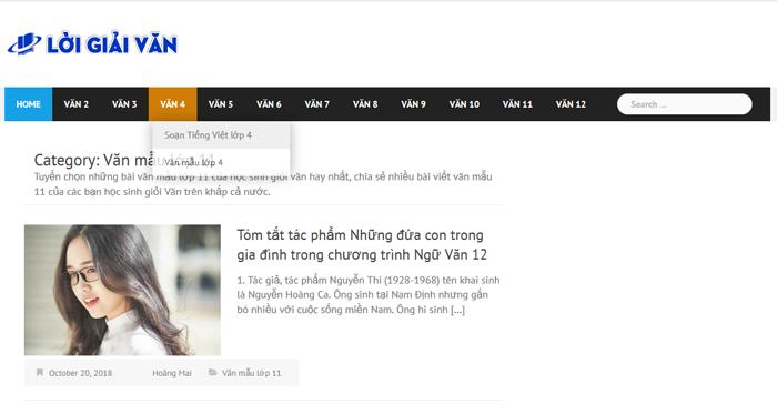 top 10 website nhung bai van mau hay lop 11 moi nhat 1 - Top 10 website những bài văn mẫu hay lớp 11 mới nhất