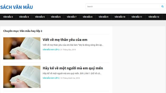 top 10 website nhung bai van mau hay lop 2 moi nhat 8 - Top 10 website những bài văn mẫu hay lớp 2 mới nhất