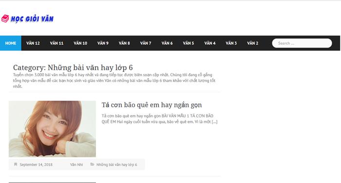 top 10 website nhung bai van mau hay lop 6 moi nhat 6 - Top 10 website những bài văn mẫu hay lớp 6 mới nhất