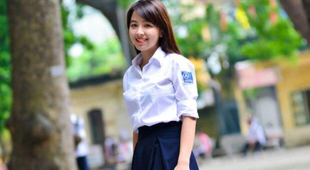 """anh girl xinh hoc sinh cap 3 rang khenh 620x340 - Đề bài:Đọc – hiểu truyện ngắn """"Vợ ngắn"""" của Kim Lân"""